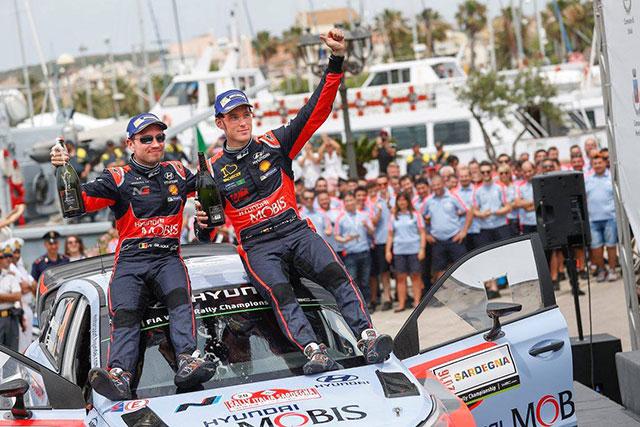 Hyundai Motosport Winners