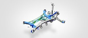 Suspension arriere multibras - SUV Hyundai Tucson